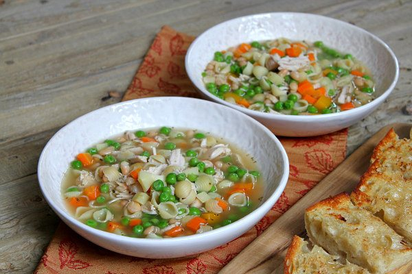 Best Turkey Soup Recipe - from RecipeGirl.com : use your turkey leftovers to make this perfect, delicious, hearty and filling turkey soup!