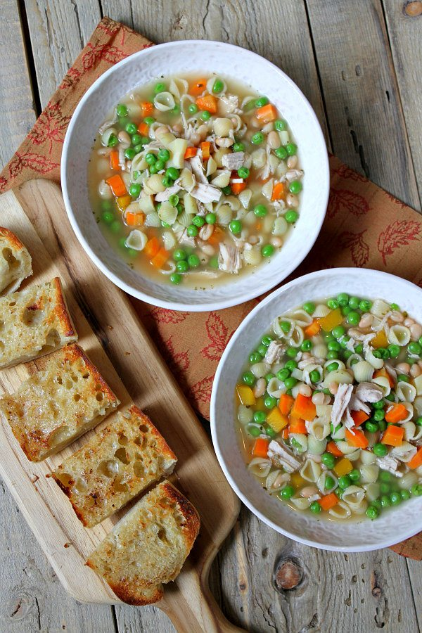 Best Turkey Soup Recipe - Recipe Girl