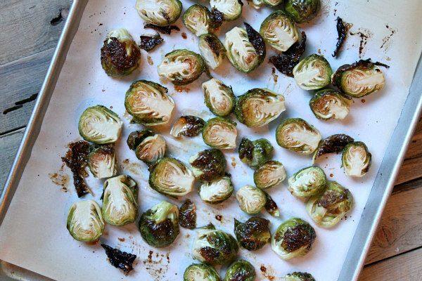 Glazed Brussels Sprouts recipe - from RecipeGirl.com