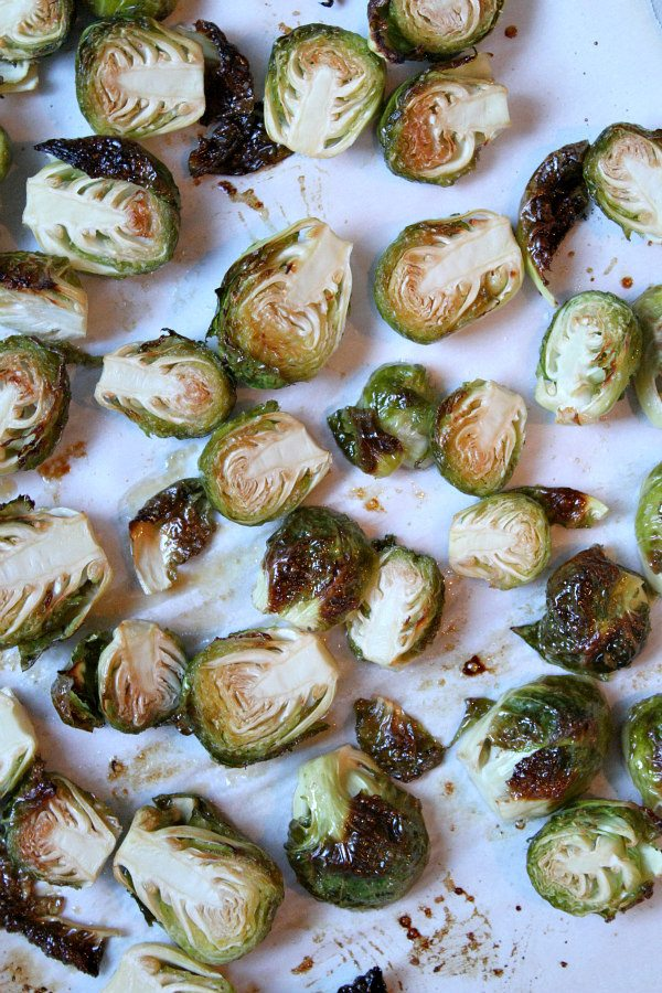 Glazed Brussels Sprouts recipe - from RecipeGirl.com
