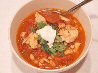 Chipotle Chicken and Tomato Soup