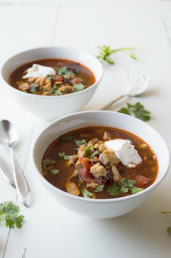 Chipotle Chicken and Tomato Soup Recipe