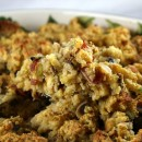 Gluten Free Cornbread and Bacon Stuffing