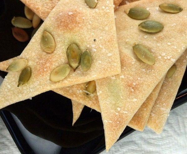 Homemade Lavash Crackers