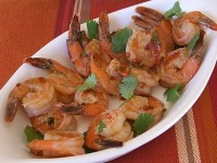 Pan Seared Shrimp with Chipotle Lime Glaze