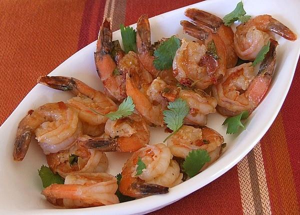 Pan Seared Shrimp with Chipotle Lime Glaze recipe from RecipeGirl.com