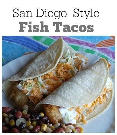 San Diego Style Fish Tacos