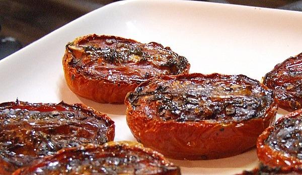 Slow Roasted Plum Tomatoes - RecipeGirl