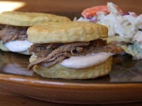 Alabama Pulled Pork Sandwiches