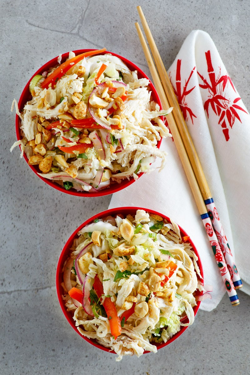 servings of Asian Turkey Salad