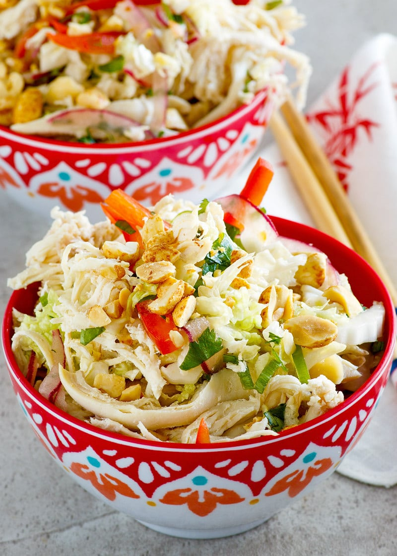 serving of Asian Turkey Salad