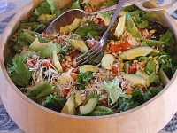 Avocado Pine Nut Salad