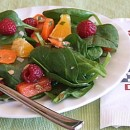Baby Spinach & Raspberry Salad