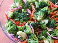 Broccoli Salad with Vinaigrette