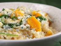 Butternut Squash, Rosemary and Blue Cheese Risotto 1