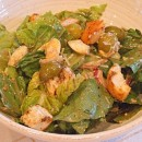 Caesar Salad with Balsamic Dressing &  Parmesan Croutons
