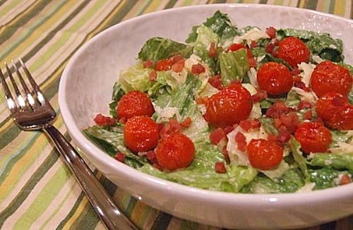 Салат цезарь помидор фото