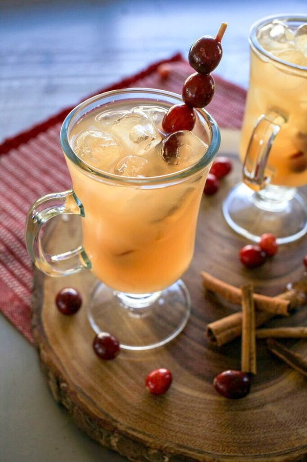 chilled christmas punch recipe - Christmas Punch Recipes With Alcohol