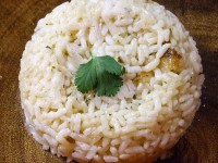 Coconut Ginger Rice