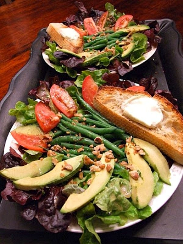 Crazy Goat Cheese Salad