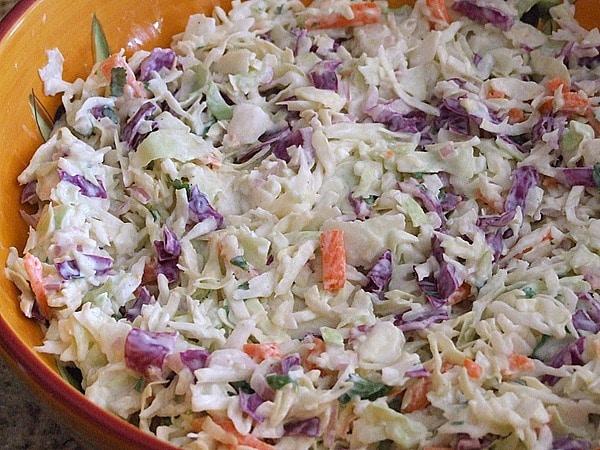 Creamy Buttermilk Coleslaw