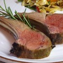 Dijon Balsamic Rack of Lamb