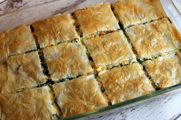 Greek Spinach Pie Recipe