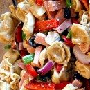 Greek Style Tortellini Salad