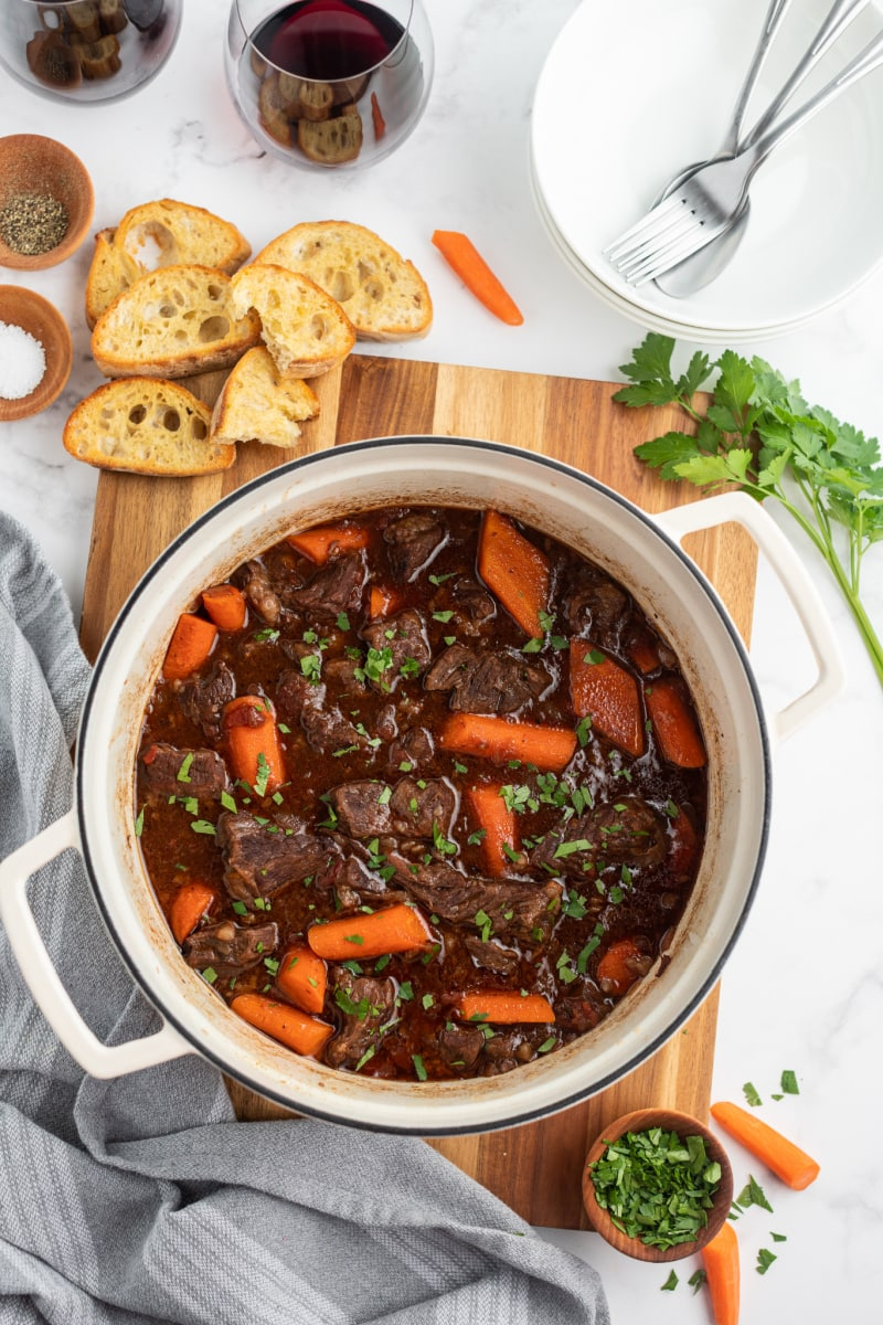 beef stew in a pot