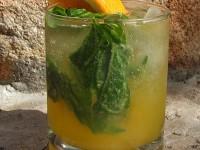 Orange Basil Mojito