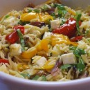 Orzo Salad with Roasted Vegetables