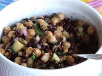 Two Bean Salad with Balsamic Vinaigrette