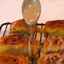 amish pumpkin cinnamon rolls 9