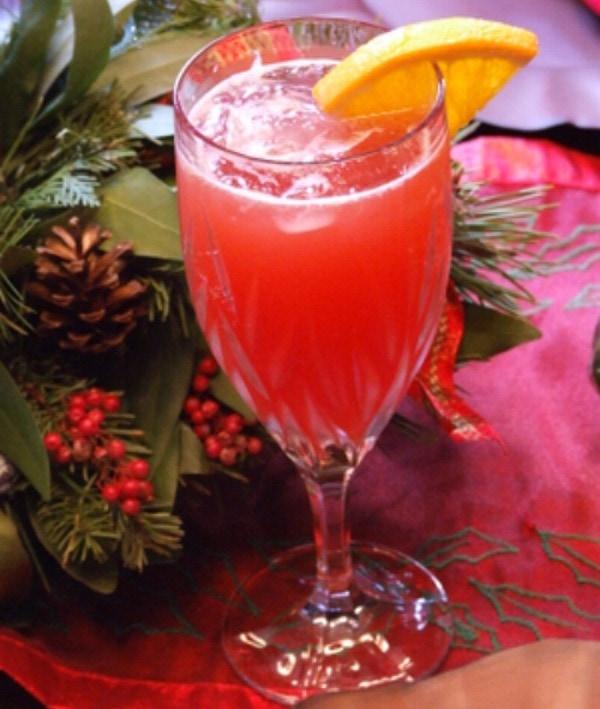 Cranberry Mimosas Recipe