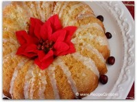 Eggnog Coffeecake