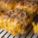 Amish Pumpkin Cinnamon Rolls
