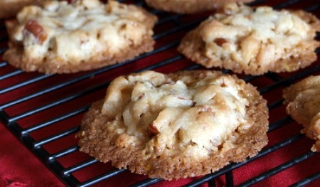 Butter Brickle and Pecan Cookies