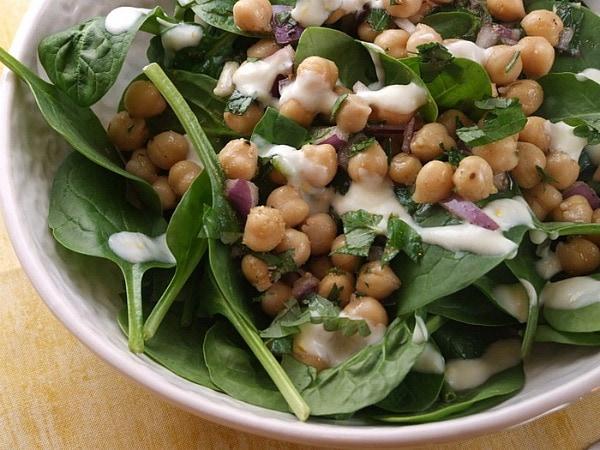 how to make spinach salad dressing