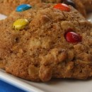 Healthy Oatmeal M&M Cookie Recipe