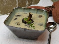 Oven Roasted Mushroom Soup