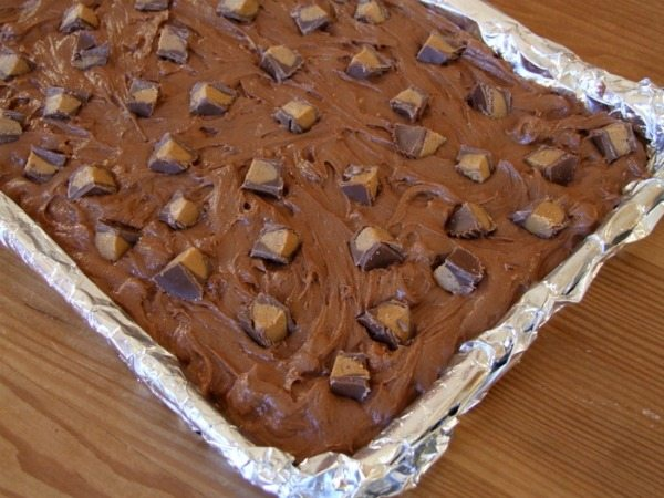 Peanut Butter Cup Brownies 2