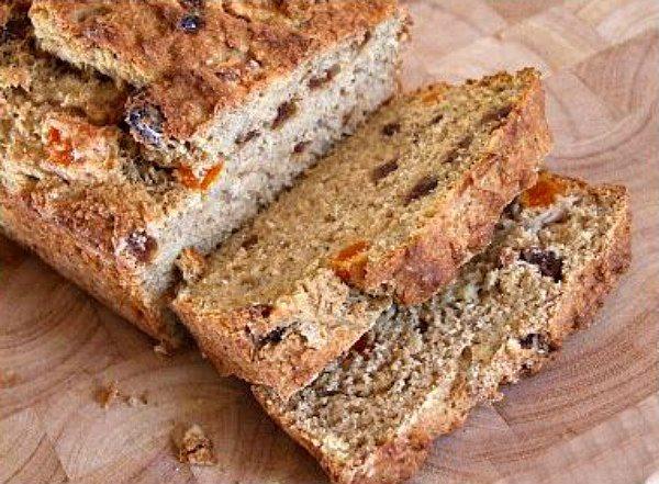 Whole Wheat Healthy Banana Bread recipe from RecipeGirl.com