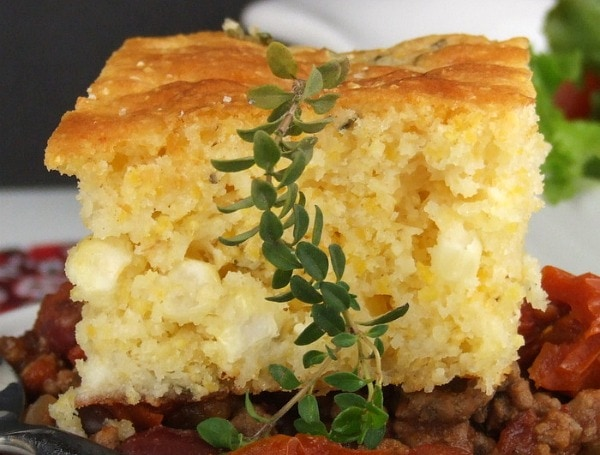 brown butter cornbread with farmer s cheese and thyme rh recipegirl com cottage cheese cornbread without corn spinach cottage cheese cornbread