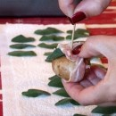 pancetta wrapped mushrooms