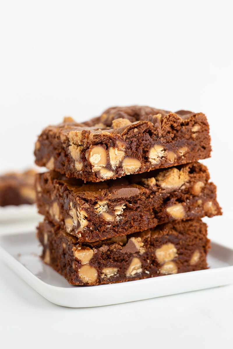 Peanut Butter Cup Brownies Recipe Girl