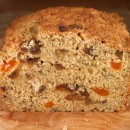 whole wheat healthy banana bread