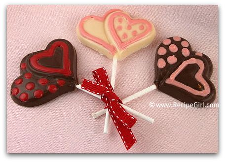 More Valentine Sweet Treats... - RecipeGirl