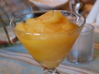 Spiced Fresh Orange and Honey Sorbet