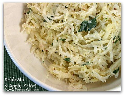 kohlrabi-salad