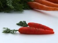 Petite Marzipan Carrots